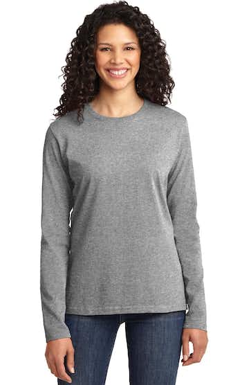 Port & Company LPC54LS Athletic Heather