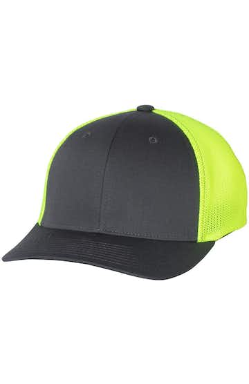 Richardson 110 Charcoal/ Neon Yellow
