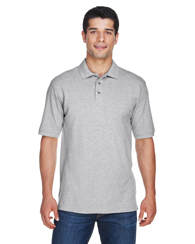 db915469 Harriton M200 Men's 6 oz. Ringspun Cotton Piqué Short-Sleeve Polo ...