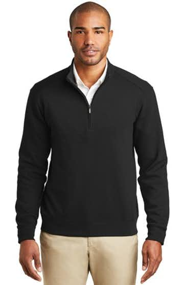 Port Authority K807 Deep Black / Cha Heather