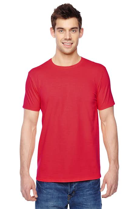 Fruit of the Loom SF45R Fiery Red