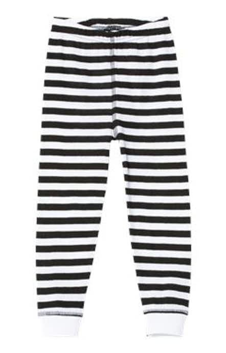 Rabbit Skins 202Z Black & White Stripe
