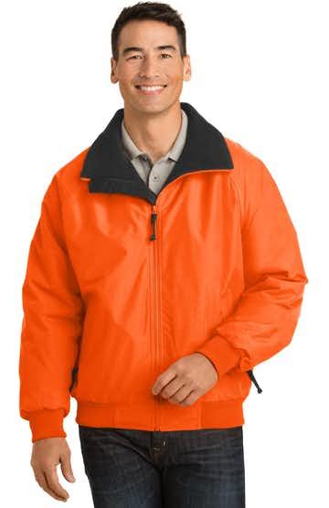 Port Authority J754S Safety Orange