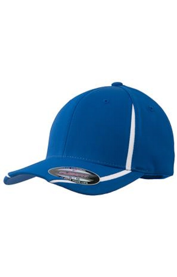Sport-Tek STC16 True Royal / White