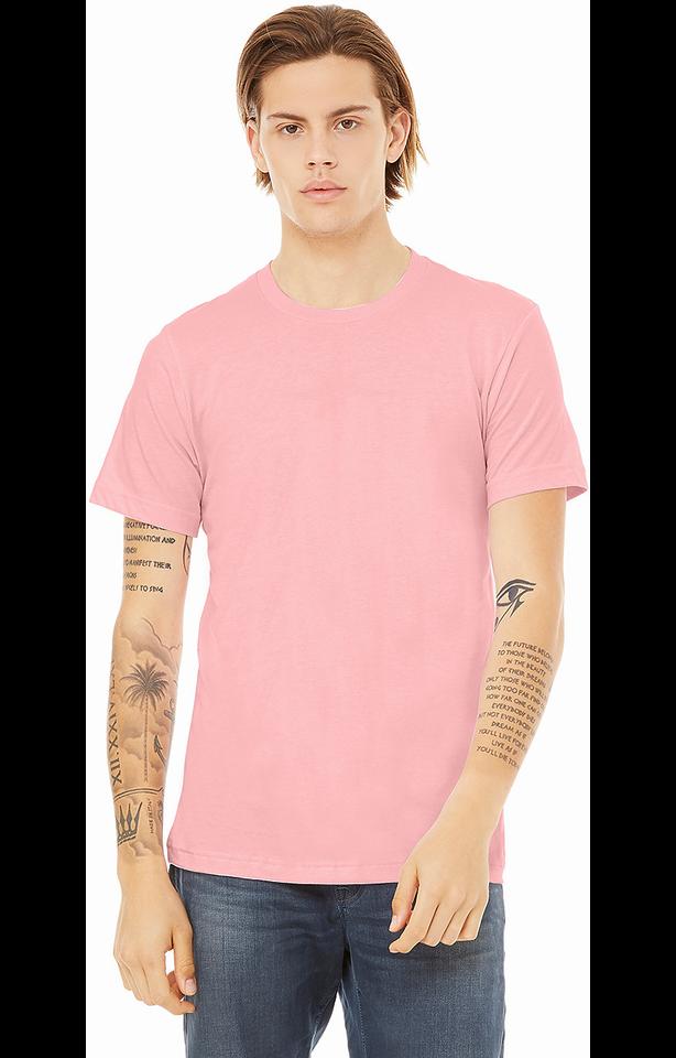 Bella + Canvas 3001C Pink