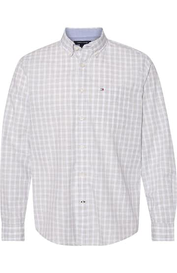 Tommy Hilfiger 13H1860 Bright White Stall Check - 13h1865