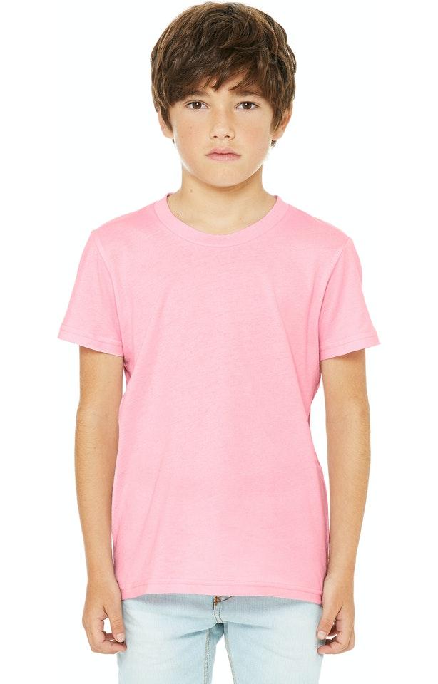 Bella + Canvas 3001Y Pink
