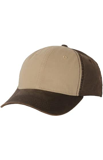 Dri Duck 3701 Khaki/ Dark Brown