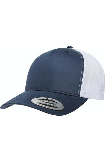 Yupoong 6606 Navy/White