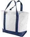 Liberty Bags 7006 White/Navy