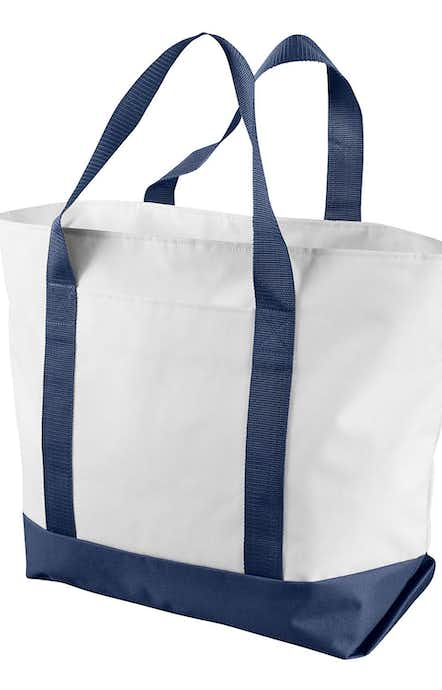 Liberty Bags 7006 White/Navy