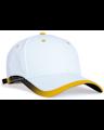 Pacific Headwear 0416PH White / Gold