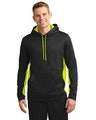 Sport-Tek ST235 Black / Safety Yellow