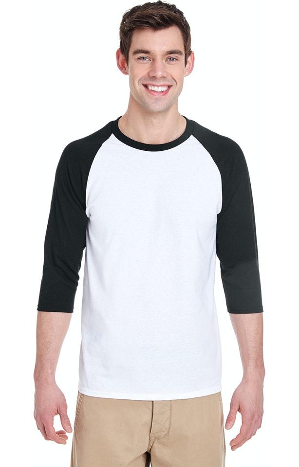 Gildan G570 White/Black