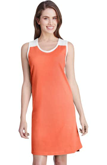 LAT 3523 Papaya/ White