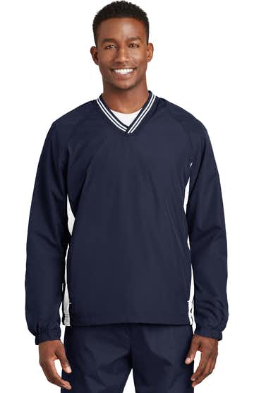 Sport-Tek JST62 True Navy / White