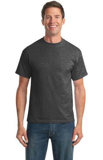Port & Company PC55T Dark Heather Gray