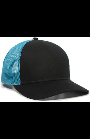 Outdoor Cap OC770 Black / Neon Blue
