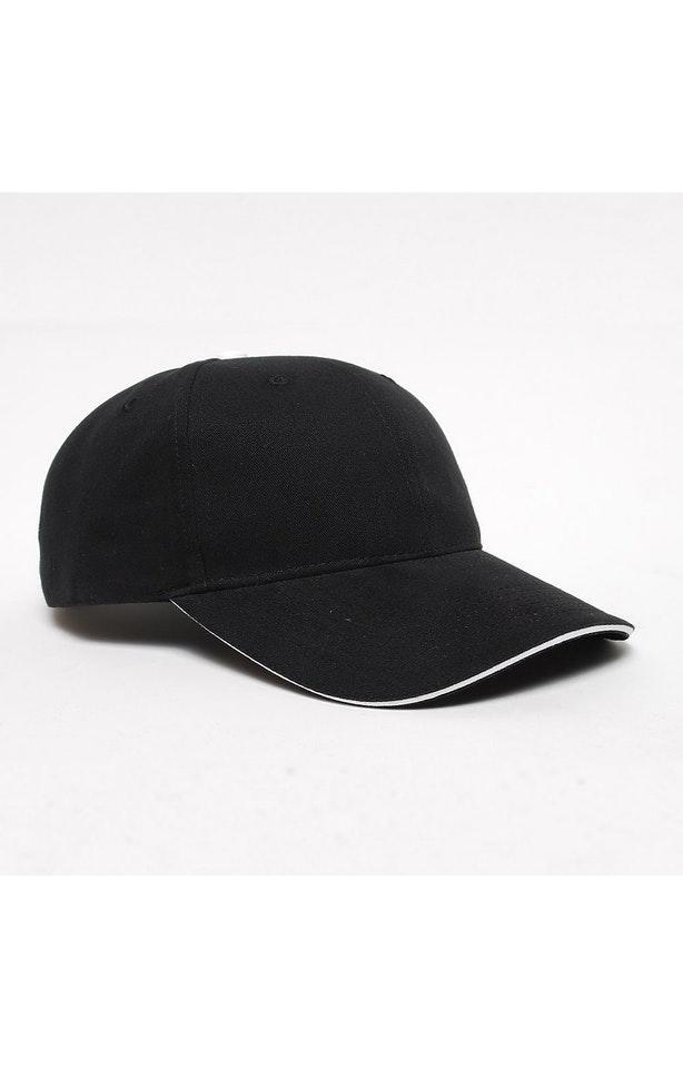 Pacific Headwear 0121PH Black/White
