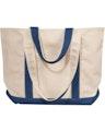 Liberty Bags 8871 Natural/Navy