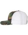 Richardson 112P Army Camo/ White