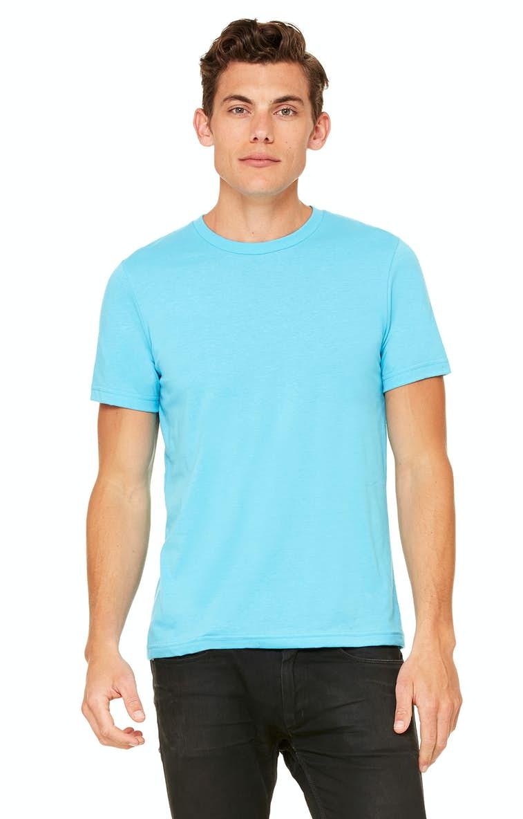 fa4decce68f0 Bella+Canvas 3650 Unisex Poly-Cotton Short-Sleeve T-Shirt - JiffyShirts.com