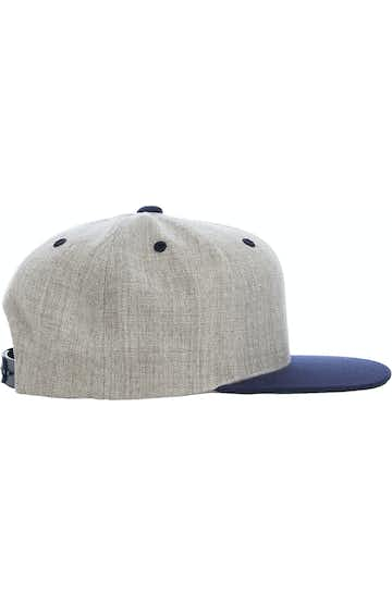 Yupoong 6089MT Heather/Navy