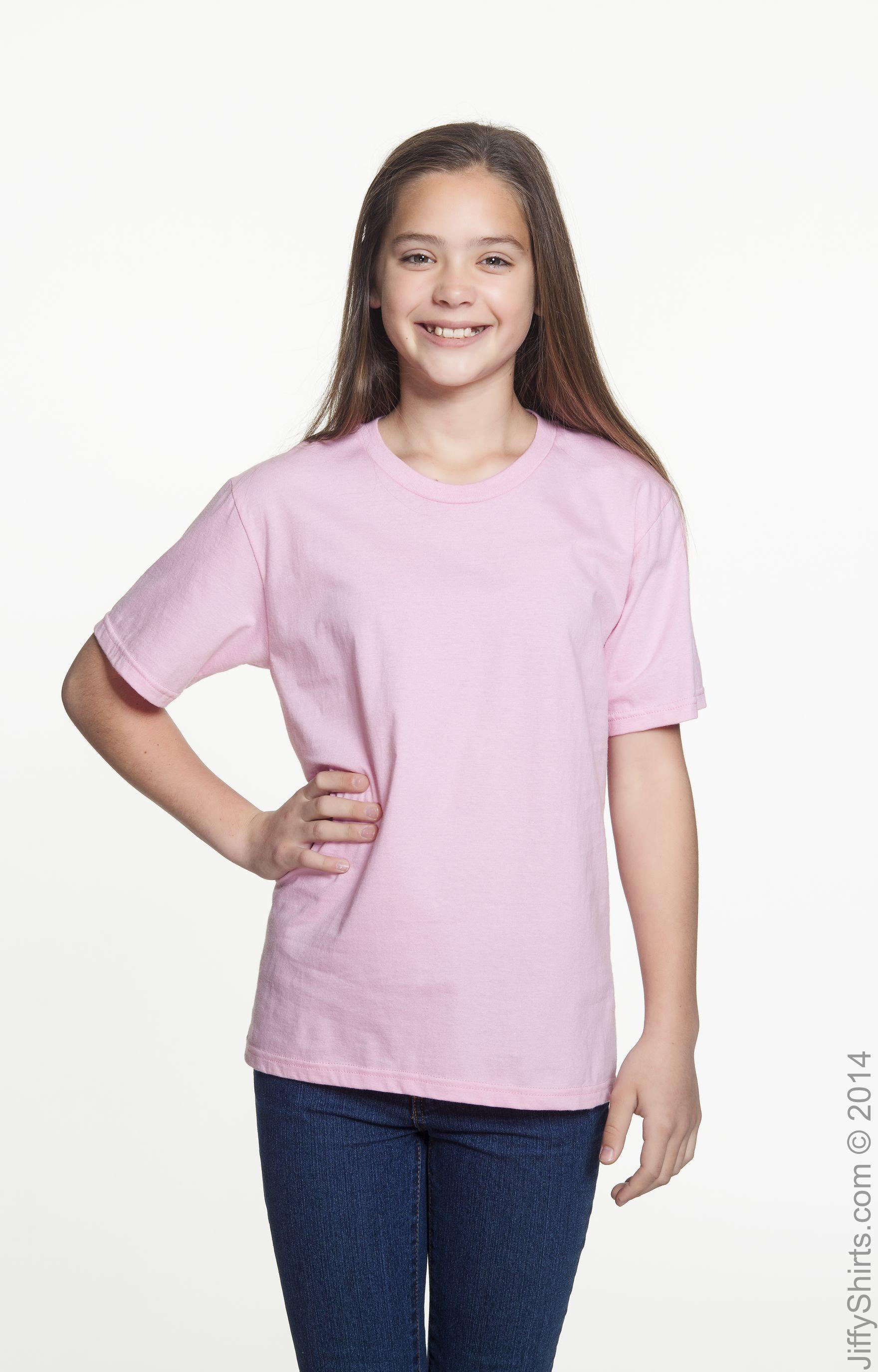 Anvil 990B Charity Pink