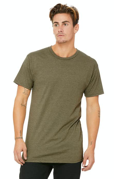 Bella+Canvas 3006 Heather Olive