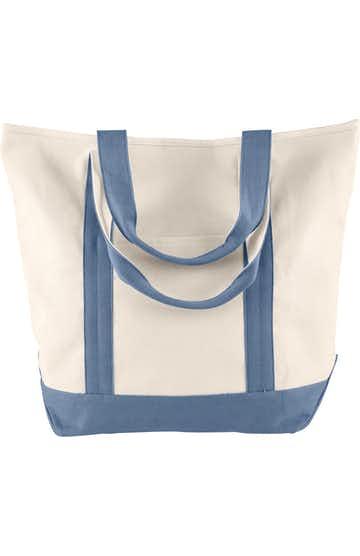 Comfort Colors C340 Ivory/ Blue Jean