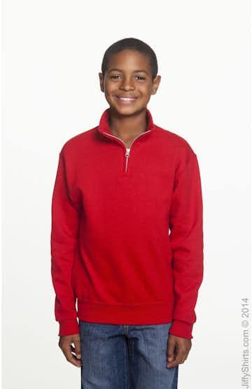 Jerzees 995Y True Red