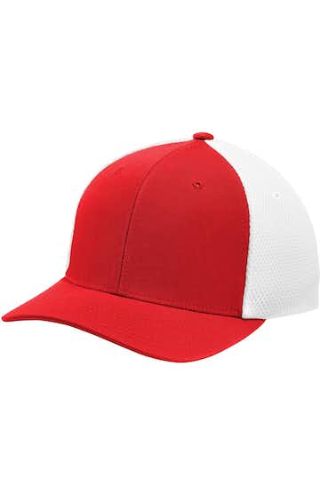 Sport-Tek STC40 True Red / White