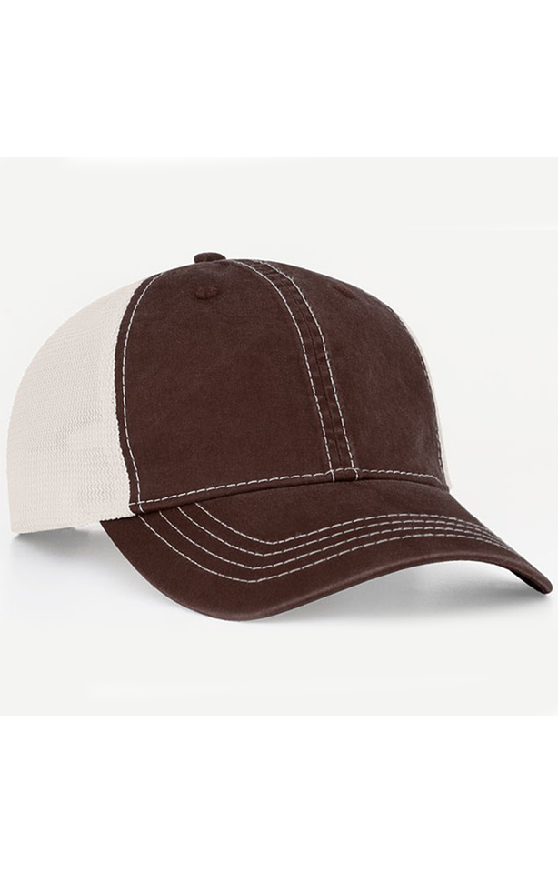 Pacific Headwear 0V67PH Brown/Ivory