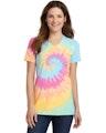 Port & Company LPC147V Pastel Rainbow