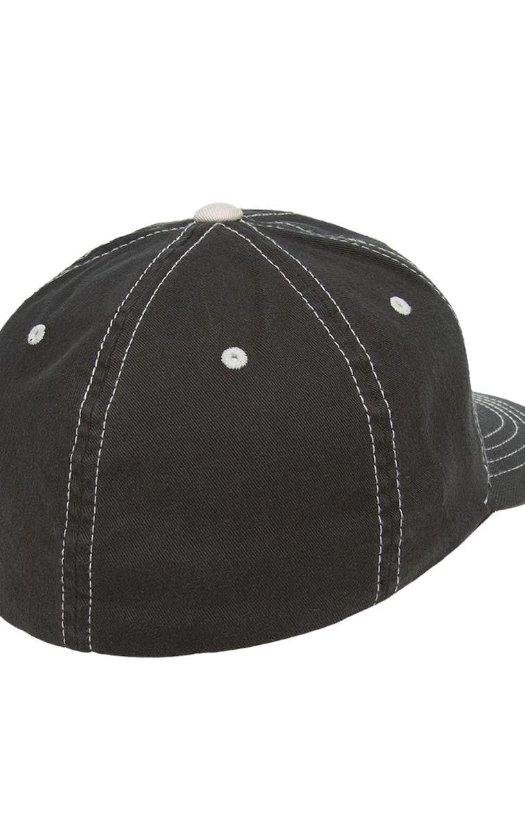 49d49de8d4fc3 Yupoong 6386 Flexfit Contrast Stitch Dad Hat - JiffyShirts.com