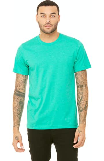 Bella + Canvas 3001CVC Heather Sea Green