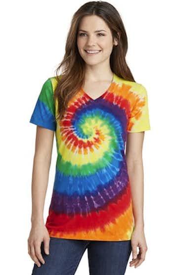 Port & Company LPC147V Rainbow