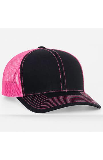 Pacific Headwear 0104PH Black/Pink