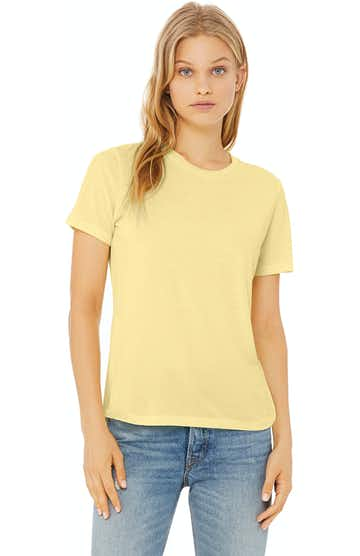 Bella + Canvas 6413 Pale Yellow Triblend