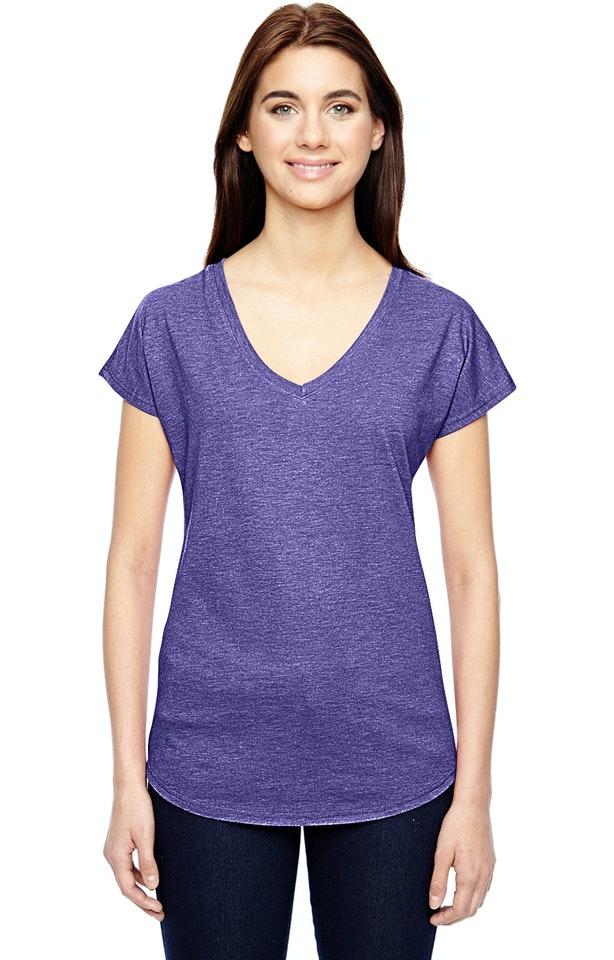 Anvil 6750VL Heather Purple