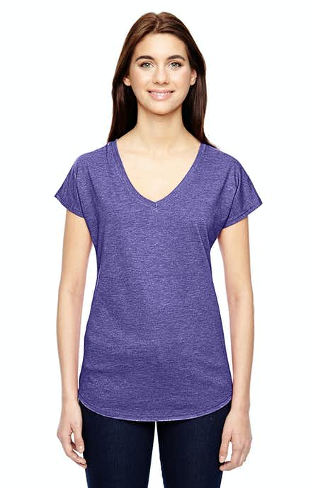 Anvil 6750VL Heather Purple