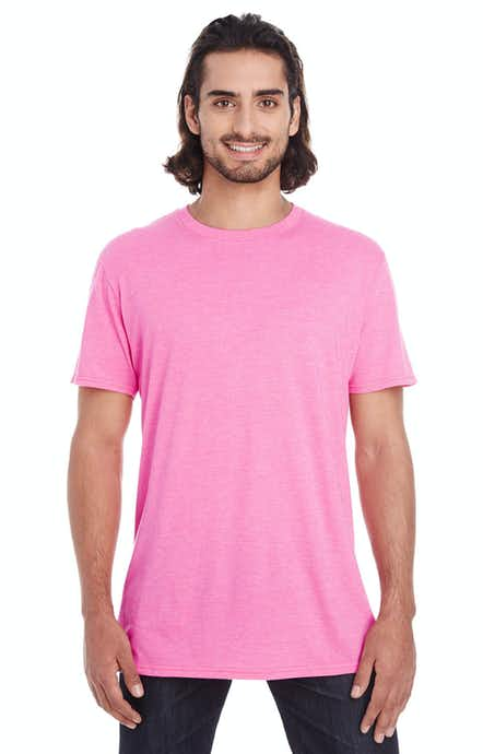 Anvil 980 Heather Hot Pink