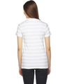 American Apparel 2102 Ash White Stripe