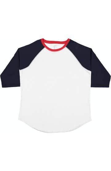 LAT 6130 White/ Navy/ Red