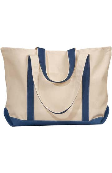Liberty Bags 8872 Natural/Navy