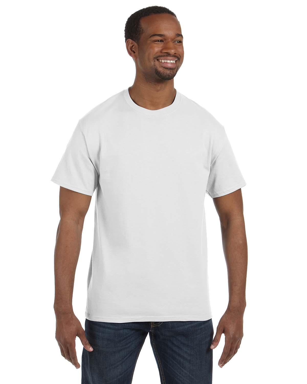 Gildan G500 White Heavy Cotton