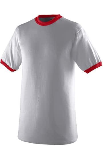 Augusta Sportswear 711 Athletic Heather / Red