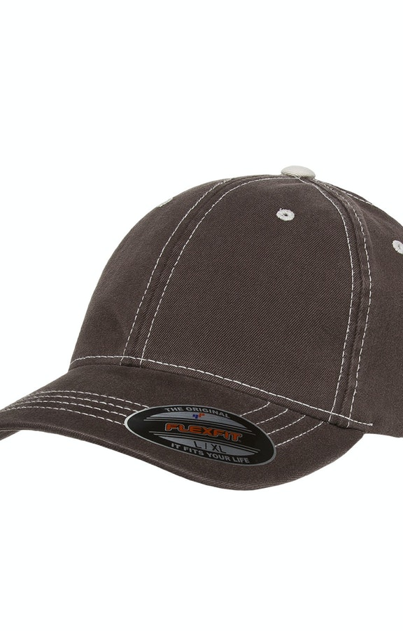 Yupoong 6386 Brown/ Stone