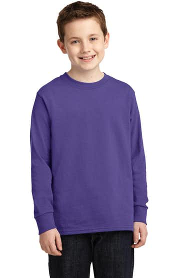 Port & Company PC54YLS Purple