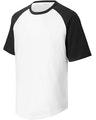 Sport-Tek YT201 White / Black